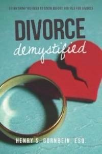 Divorce Demystified Henry Gorbein's new book explains divorce for non-lawyers DPLIC_thumb_thumb_thumb