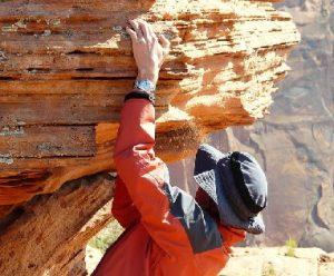 climber really small